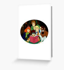 THE MYSTERY INC. GANG  Greeting Card