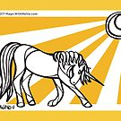Sunray Uniquorn - #inktober 2017 unicorn illustration by mellierosetest