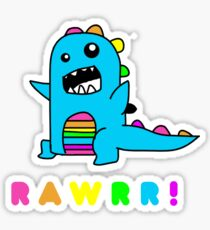 - Dinosaur! xo Sticker