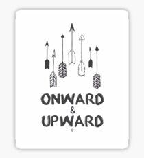 Onward&Upward  Sticker