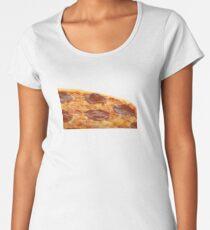 Pepperoni Pizza Premium Scoop T-Shirt