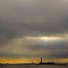 Lady Liberty in New York Harbor by ponycargirl