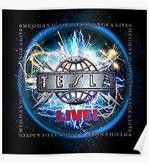 Tesla Tour Poster