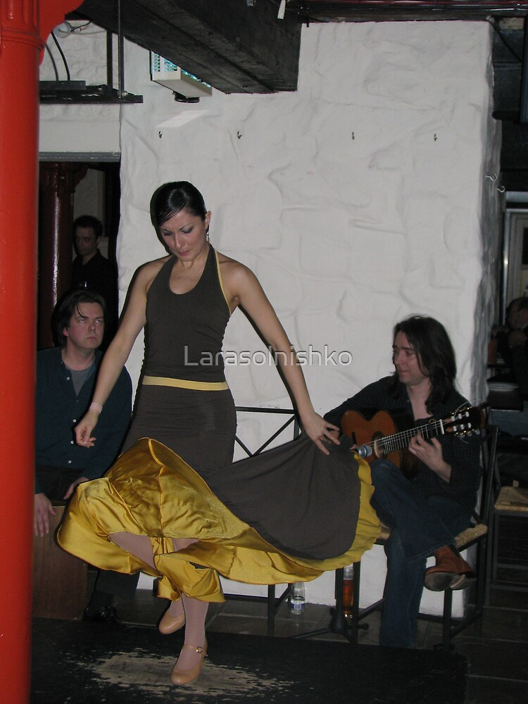 Flamenco by Larasolnishko
