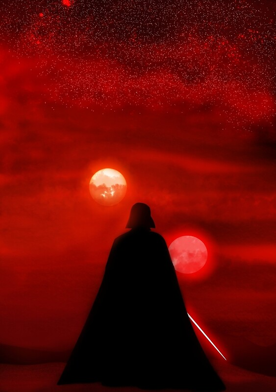 Star Wars canvas, star wars painting, star wars art
