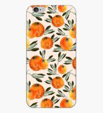 Sunny orange iPhone Case