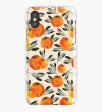 Sunny orange iPhone Case