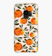 Sunny orange Case/Skin for Samsung Galaxy