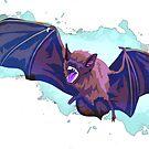 Vampire Bat Ghost by Maxwbender