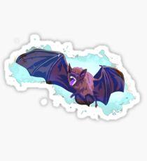 Vampire Bat Ghost Sticker