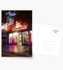 Hollywood Tattoo Shop Postcards