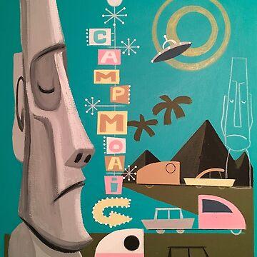 Camp Moai by elgatogomez