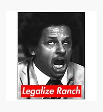 Eric Andre - Legalize Ranch - Red Photographic Print