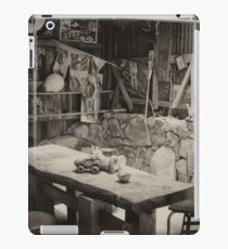 Shed Table And Chairs iPad Case/Skin