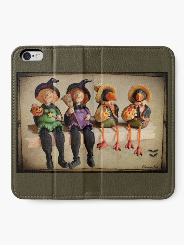 Alternate view of Tell Us A Happy Halloween Story! iPhone Wallet