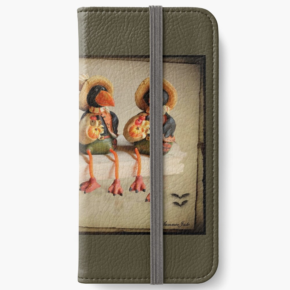 Tell Us A Happy Halloween Story! iPhone Wallet
