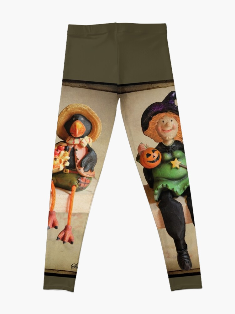 Alternate view of Tell Us A Happy Halloween Story! Leggings