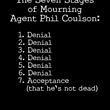 Mourning Agent Coulson by erindizmo