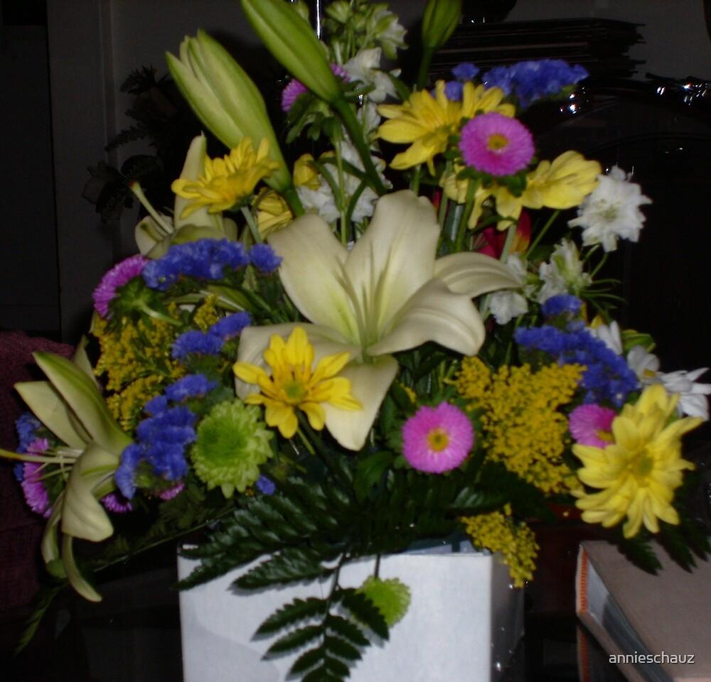 Spring Flowers by annieschauz