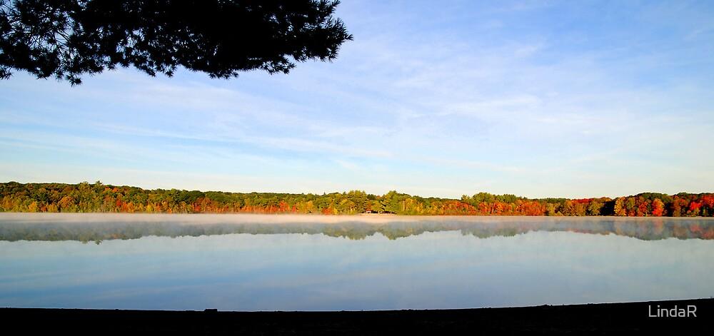 Across the Lake... by LindaR