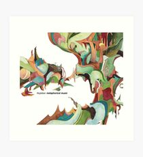 NUJABES METAPHORICAL MUSIC R.I.P Art Print