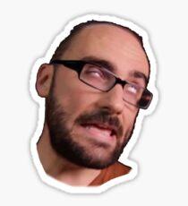 Hi, here, Michael VSauce Sticker