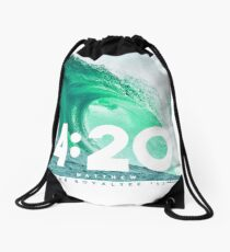 Matthew 4:20 Drawstring Bag