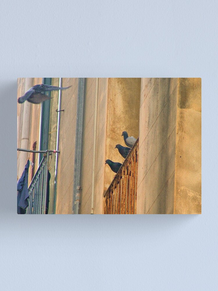 Alternate view of the visit Canvas Print