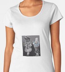 Beerus and Whis Women's Premium T-Shirt
