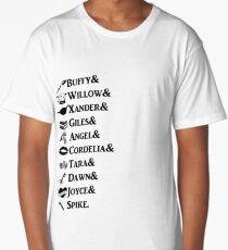 Buffy Names Long T-Shirt
