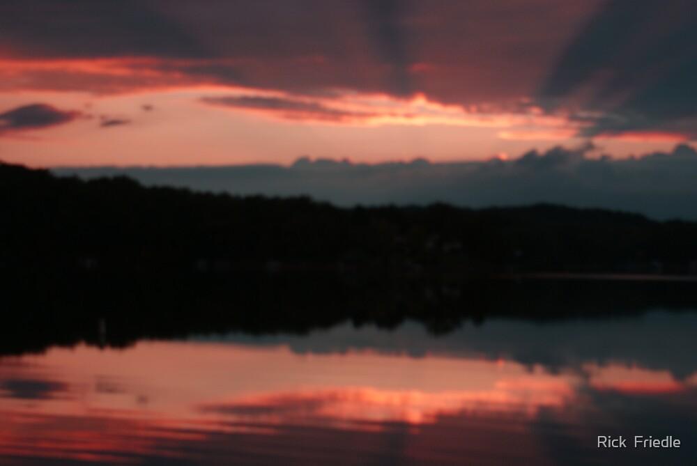 Sun Setting by Rick  Friedle