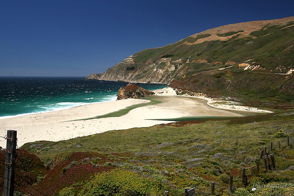 Big Sur Coast by John Absher