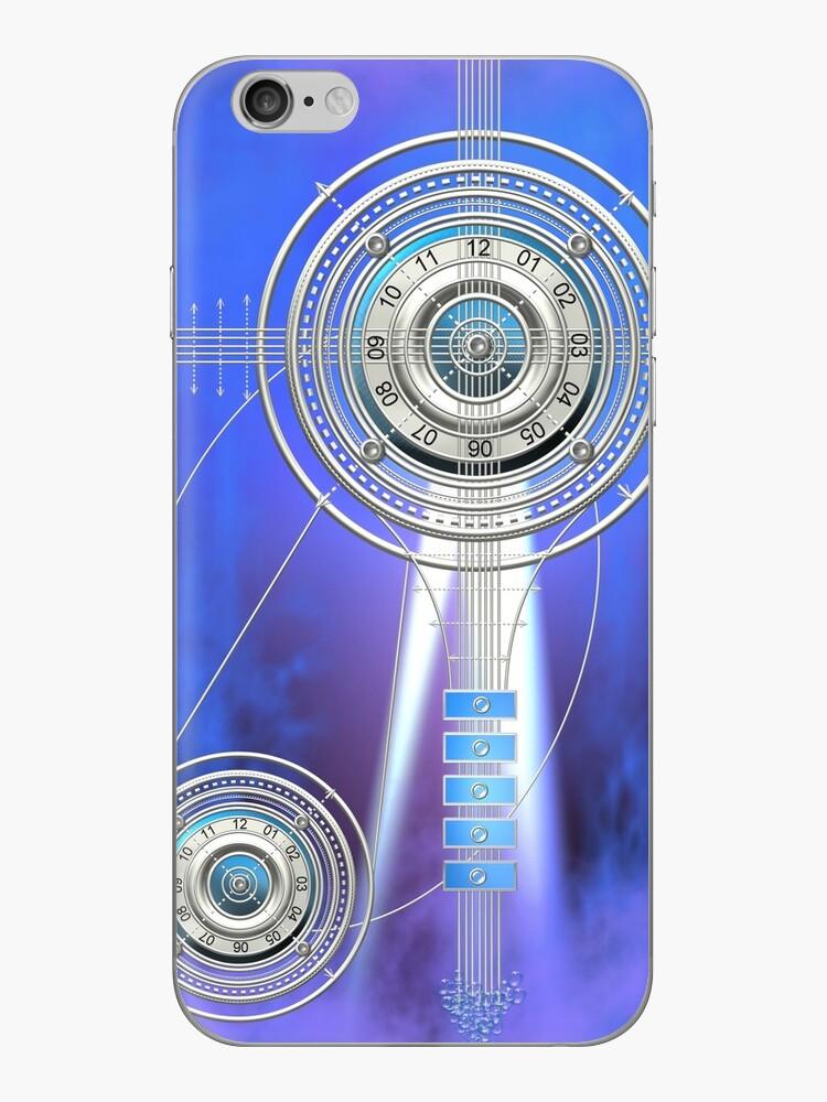 Blue Clock Metal   Digital Art   Graphic Design by Natraj Jayaraman