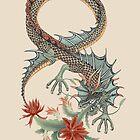 Botanical Dragon Eight  by Ruta Dumalakaite