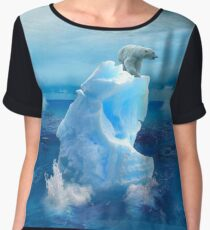 Eye of The Storm Women's Chiffon Top