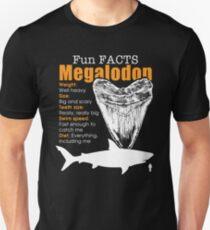 Funny Megalodon tshirt - great gift for shark lovers Unisex T-Shirt