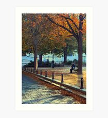 Harmony In Autumn Art Print