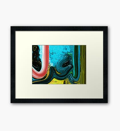 Al Adal Allah name Painting Framed Print