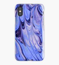 Periwinkle Swirls iPhone Case