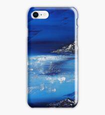 Winter scene in the alps iPhone Case/Skin