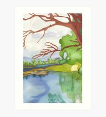 Waterside Art Print