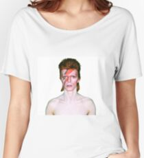 David Bowie - Aladdin Sane Women's Relaxed Fit T-Shirt