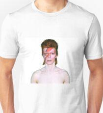 David Bowie - Aladdin Sane Unisex T-Shirt