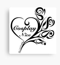 Cosplay Nice Canvas Print
