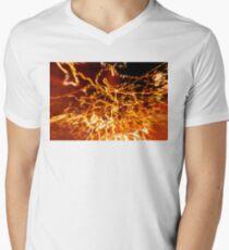 When lights explode... V-Neck T-Shirt