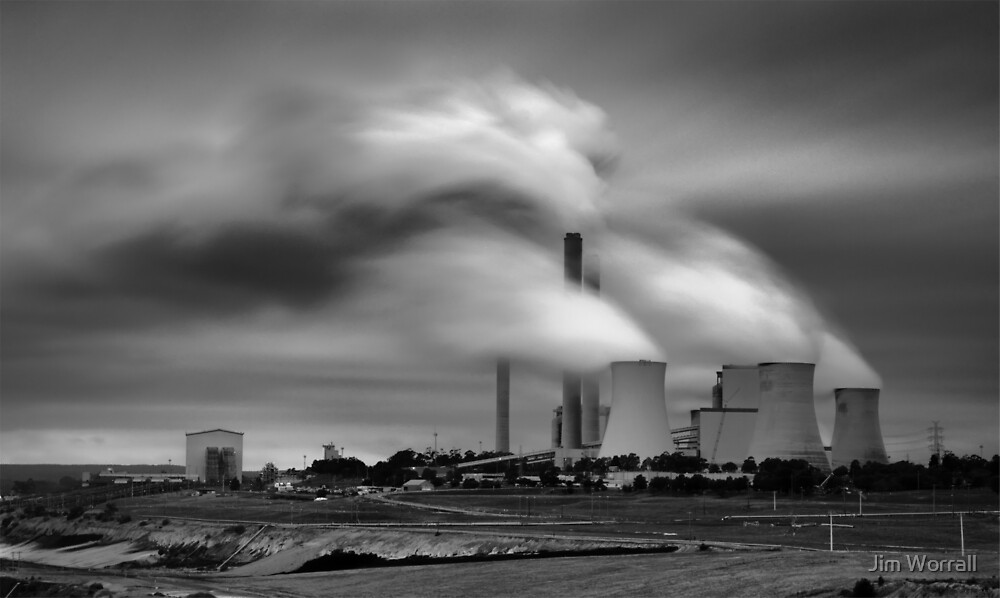 Loy Yang Power Station by Jim Worrall