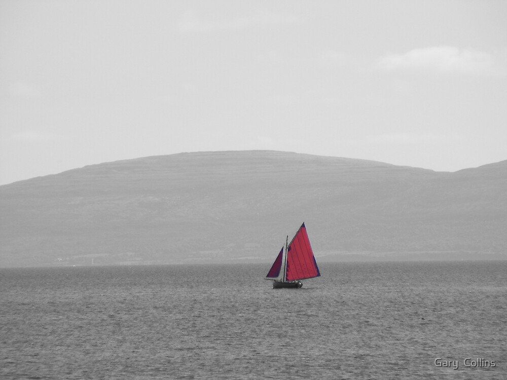 Galway Bay Sailing by Gary  Collins