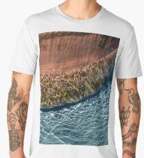 Boiling Caldron Bubbles and Ripples Men's Premium T-Shirt