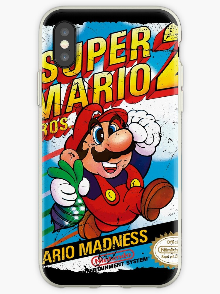 iphone xs case mario