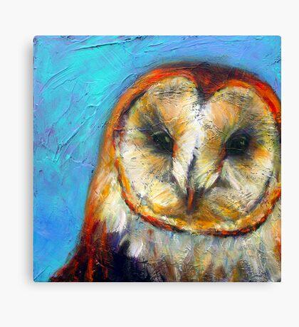 Insight: Barn Owl Canvas Print